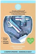 Charlie Banana Handheld Diaper Sprayer for Cloth Diapers - Easy to Install Bidet