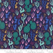 Yucatan Cactus Night Sky Navy Annie Brady 16710 21 Moda Quilting Cotton Fabric