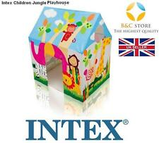 NUOVO INTEX 45642 Kids Jungle Playhouse Bambini Wendy House ZOO Cottage divertente miglior
