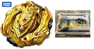 TAKARA TOMY B-00 Gold Knight Achilles w/ blue level chip  Beyblade (US Seller)