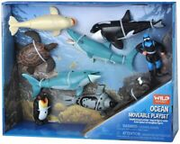 Wild Republic 9-pc. Ocean Moveable Play Set One Size Blue