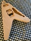 Warmoth Switchback -Flying V routed for Floyd Rose 2 humbucker-ready to ship!