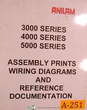 Anilam 3200MK 3300MK, 3000 4000 & 5000, Assemblies & Wiring Diagrams Manual 1998