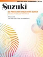 Suzuki Violin with Guitar Accompaniment, Vol. 1-3: 21 Pieces for Violin with Gui