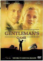 A GENTLEMAN'S GAME (2002) di J. Mills Goodloe DVD DA COLLEZIONE STORM OTTIMO
