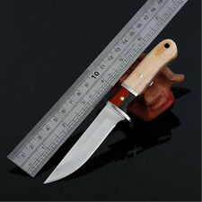 Outdoor Survival Camping Tool Tactical Hunting Straight Knife Fixed Blade Knives