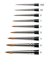 Winsor & Newton SERIES 7 MINIATURE Kolinsky Sable Artists Brushes.  Paint Brush
