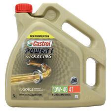 Castrol Power 1 Racing 4T 10w-40 Synthetic 4 stroke 10W40 Bike oil 4 Litres 4L