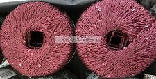 (49,98 €/100 g): 50 Gramm Schulana LUSTRINO, mit Pailletten, Farbe:155 #876