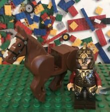 LEGO LORD OF THE RINGS Hobbit 9474 KING THEODEN Minifigure Brown horse