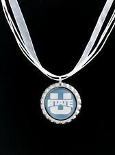 COLLEGE FANS!!  Utah State University Necklace