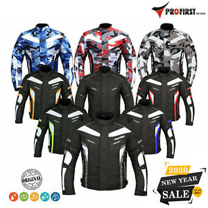 Motorcycle Motorbike Jacket Bike Riding Jackets Coat Rainproof Textile CE Armors