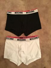 Mens Moschino Boxers X 2 Size S