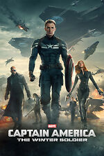Captain America: The Winter Soldier (DVD DISC ONLY, 2014) NO ARTWORK