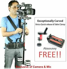 Flycam 5000 Stabilizer Steadycam Quick Release Body Pod Camera Support FREE BAG!