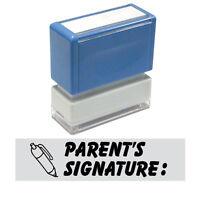"""JYP PA1040 Teacher Stamp with """"parent's signature"""""""