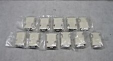 DVI-A (M) to VGA Female adapter 887-4187-00 for monitors tvs Lot of 11