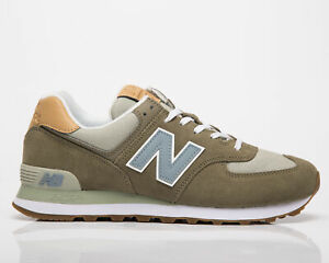 New Balance 574 Men's Mushroom Cyclone Casual Athletic Lifestyle Sneakers Shoes