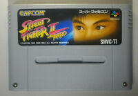 Street Fighter II: Turbo (Super Famicom, 1993) Japanese Version