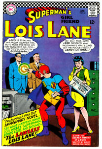 LOIS LANE SUPERMAN'S GIRL FRIEND #64 in VF- condition a 1966 DC Silver Age comic