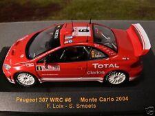1/43 IXO Peugeot 307 WRC #6 Monte Carlo 2004