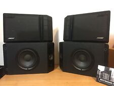 Bose 201 Series IV Direct Reflecting Speakers Left And Right! Vintage Bose Audio