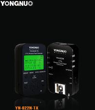 1x Emetteur +1x Récepteur/déclencheur i-TTL Yongnuo YN-622N-TX pour Nikon