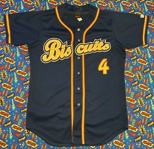 Vintage Wilson MiLB Montgomery Biscuits Baseball Jersey