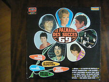 LP VARIOUS LE PALMARES DES SUCCES 69 / Disques Vogue ‎– CLVLX 310 France (1969)