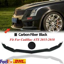 Front Bumper Body Kit Lip Spoiler Splitter Cover Trim For Cadillac ATS 2015-18