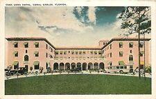 Florida, FL, Coral Gables, Casa Loma Hotel 1920's Postcard