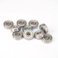 (10)627ZZ 7x22x7mm ABEC3 Thin-wall Shielded Deep Groove Ball Bearing