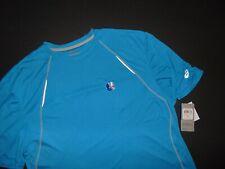 Nwt, Asics Men's Shosha Striped T-Shirt ~ 3Xlt ~ Reflectivity Fabric ~ Nwt