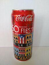 "Puerto Rico Coca Cola ""Fiestas de la Calle"" Coke Can 2020 Coke 50th anniversary!"