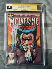 Wolverine #1 Limited Series (1982, Signed Stan Lee, Joe Rubinstein, CGC 8.5)