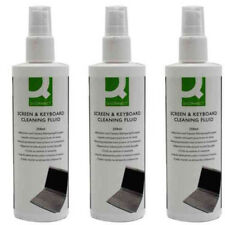3x 250ml Computer PC Tablet Screen Care Keyboard Cleaning Fluid Spray KF04502