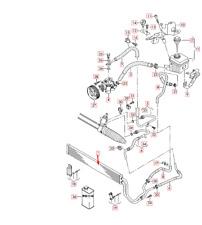 Audi Q7 4L Power Steering Oil Cooler Radiator 7L8422885A NEW GENUINE 2015