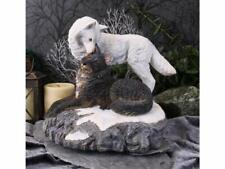More details for nemesis now lisa parker snow kisses 20.5cm ornament statue b4649n9