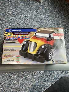 """2002 Radio Shack RC """"Shifter"""" Coupe Roadster/Hot Rod in box Untested 49 MHZ"""