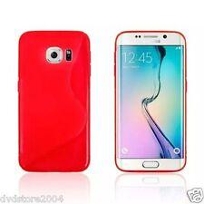 Custodia cover case WAVE ROSSA Morbida  per Samsung Galaxy S6 edge SM-G925