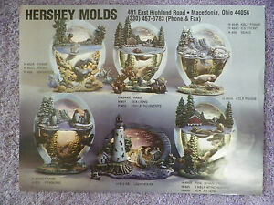 Hershey Molds Light Scenes Technique Sheet