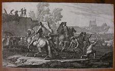 G. P. RUGENDAS `BELAGERUNG DER STADT AUGSBURG IM JAHRE 1703/04` T. 34; ~1705