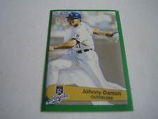 1996 Panini Baseball Johnny Damon Sticker #190***Kansas City Royals***