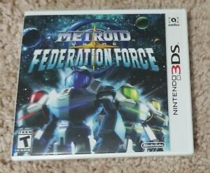 [Torn Plastic] Metroid Prime: Federation Force *Brand New* (Nintendo 3DS, 2016)