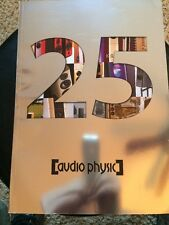 Audio Physic 25th Anniversary 54 Pg Catologue VG RARE!! Check It Out!!