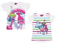Girls Children Child Kids Teenage Disney Trolls T-Shirt Top age 3-12 years