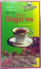 Instant Honey Ginger Tea by West Indian Select - 20 bags ea