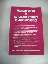 Problem Solver in Automatic Control Systems & Robitics by REA 1982