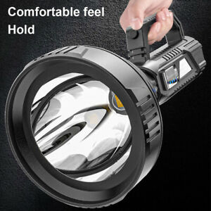 990000LM LED Light LED Flashlight Torches Spotlight USB Rechargeable Waterproof