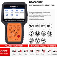 FOXWELL NT650Elite OBD2 Diagnostic Scan Tool ABS SAS EPB DPF Injector Oil Reset